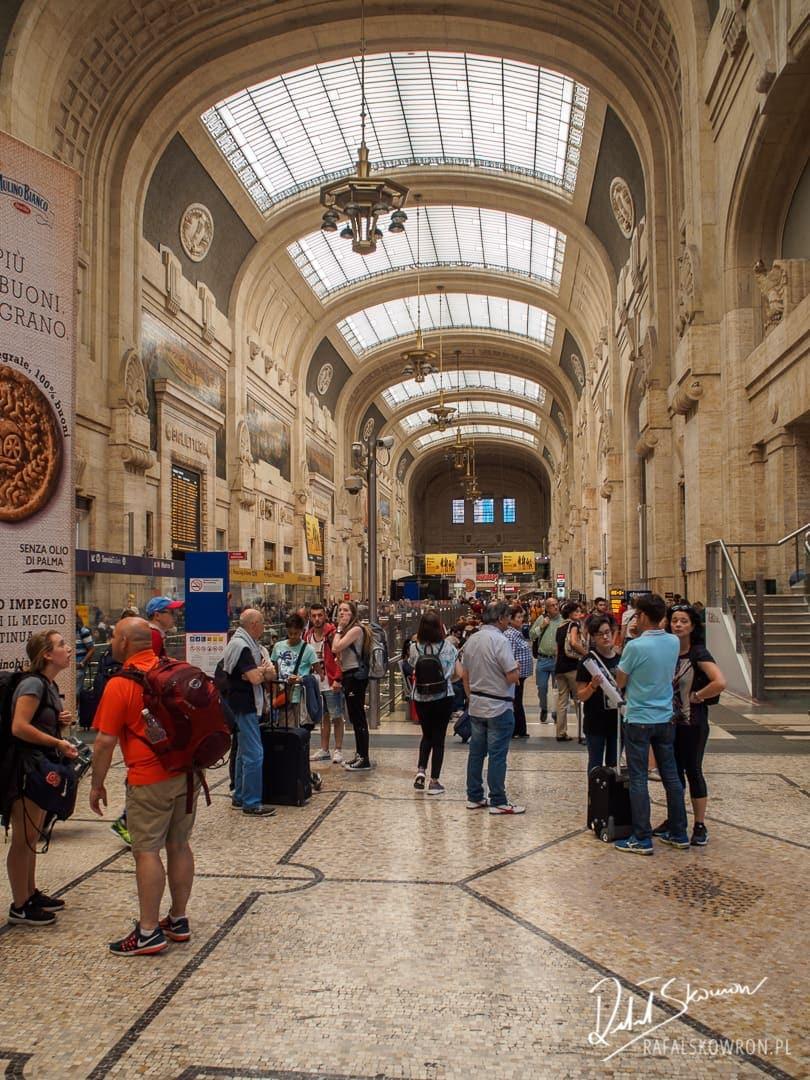 Dworzec główny w Mediolanie