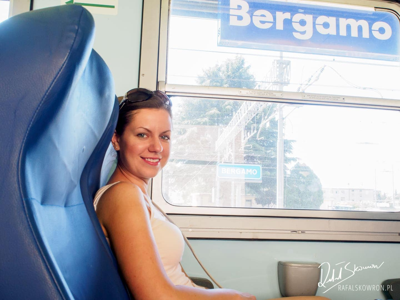 Pociąg z Bergamo do Lecco