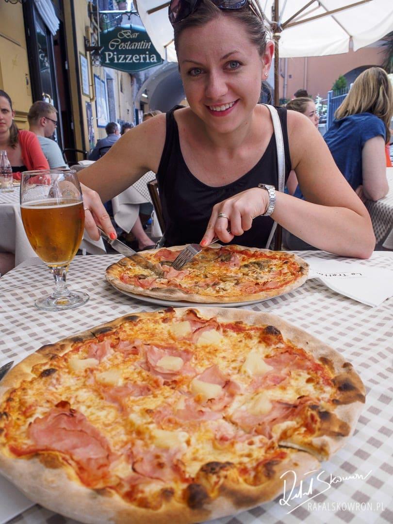 Pizza w Menaggio