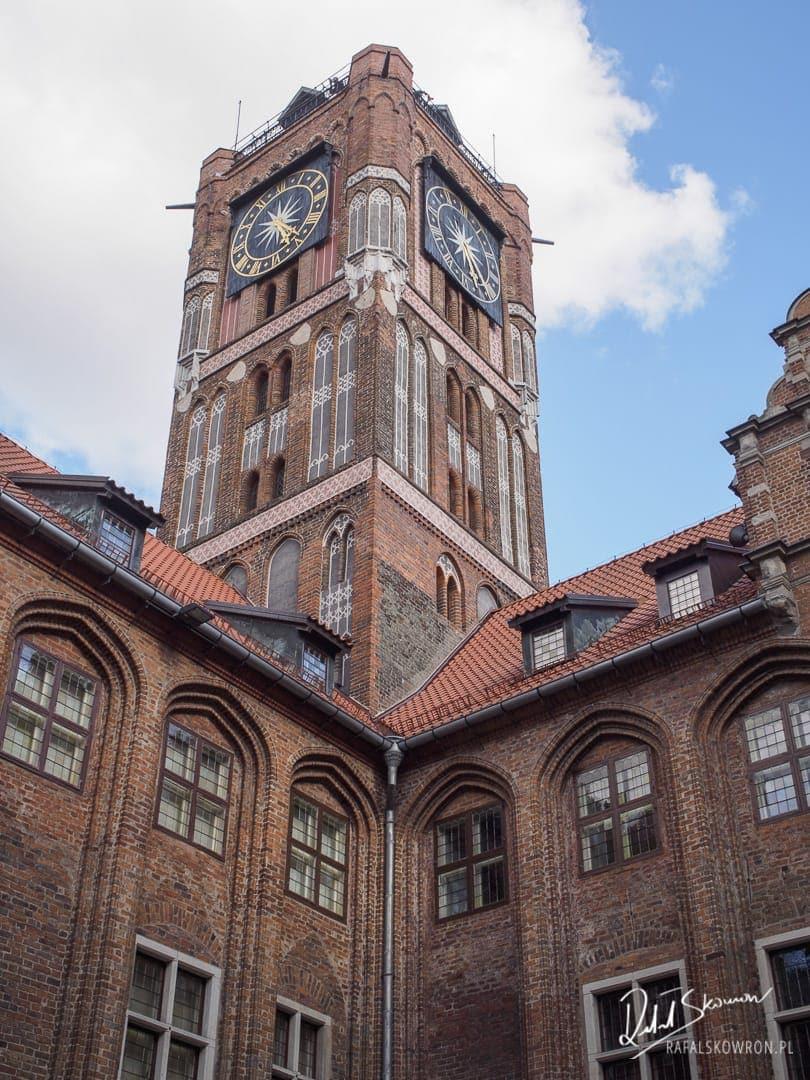 Wieża ratusza w Toruniu