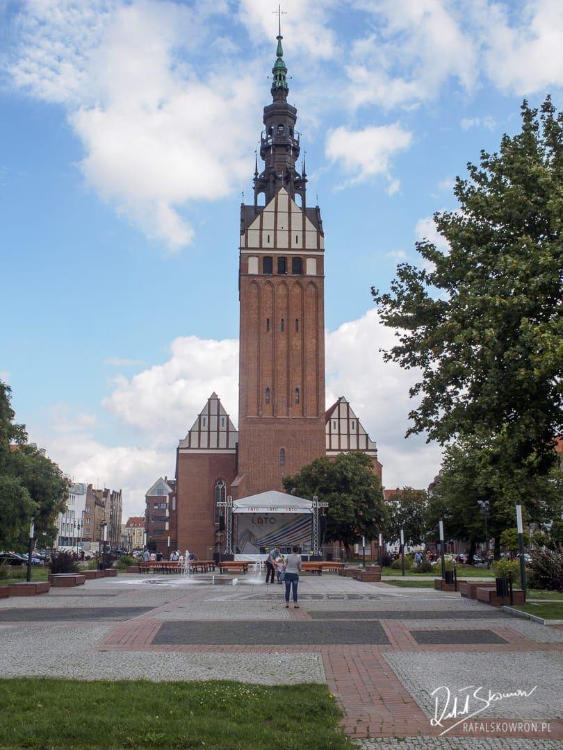 Jeden z najwyższych kościołów w Polsce - Katedra św. Mikołaja.
