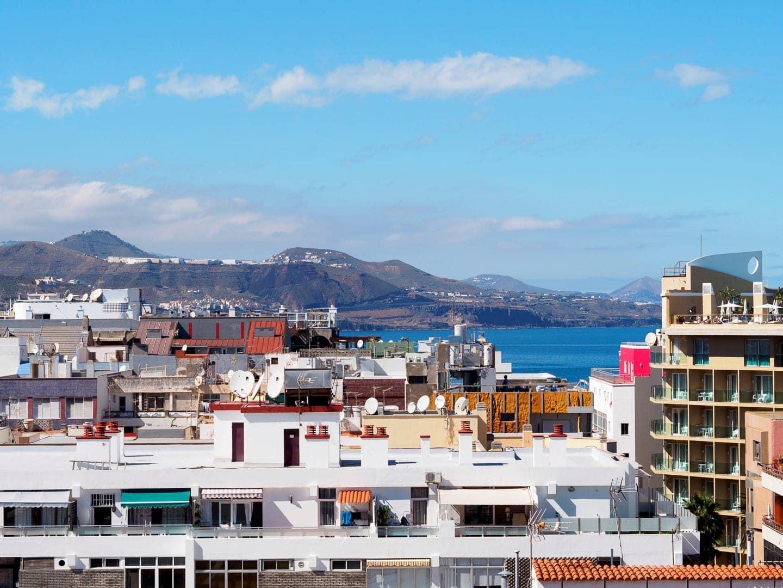 Widok z okna w Las Palmas