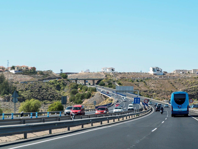 Autostrada na Gran Canarii.