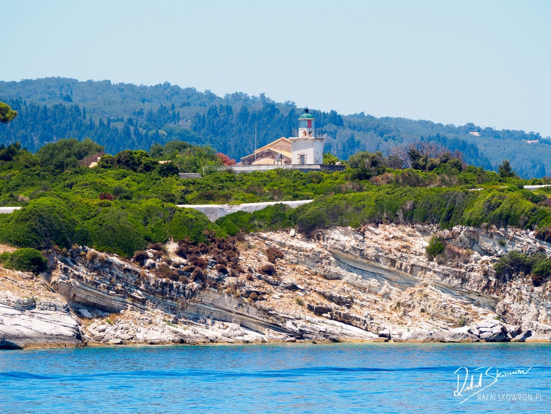 Wpływamy do portu Gaios - największej miejscowości na wyspie Paxos