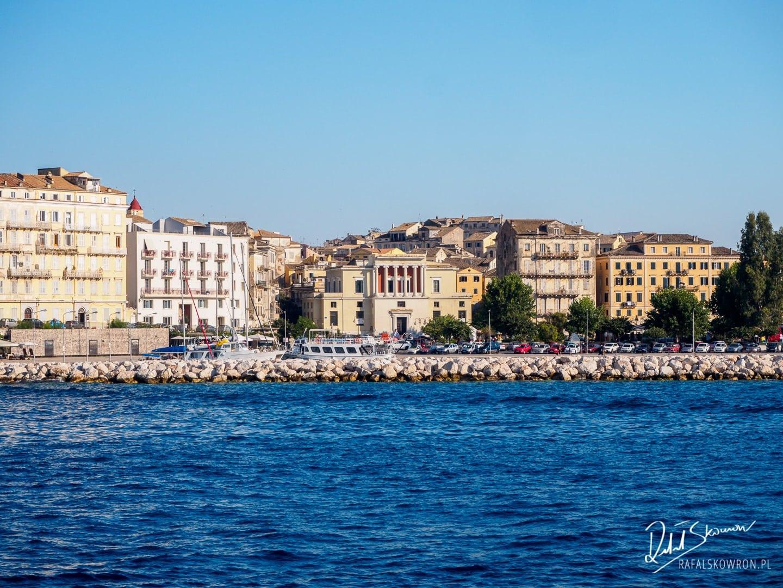 Powrót z rejsu na Paxos do Corfu Town