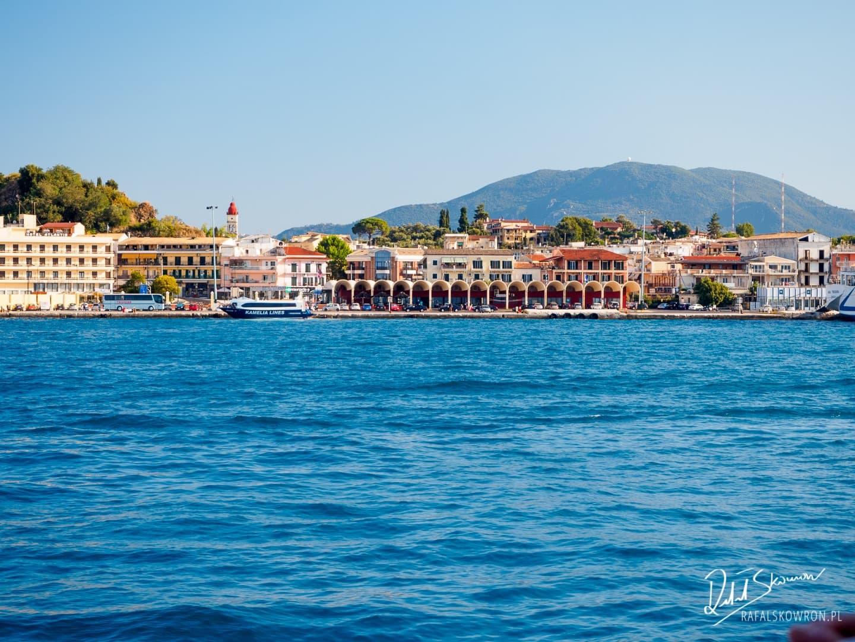 Powrót do Corfu Town