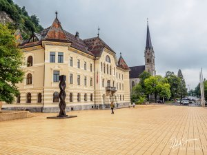 Zabytkowa siedziba rządu Liechtenstein