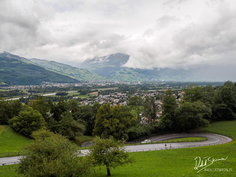 panorama na Liechtenstein