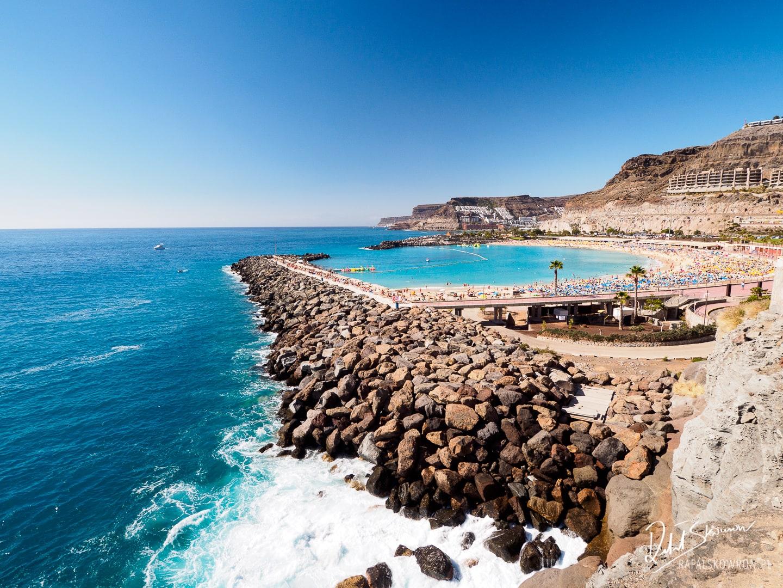 Playa de Amadores – najpiękniejsza plaża na Gran Canarii